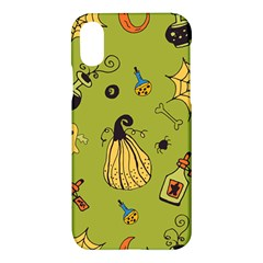 Funny Scary Spooky Halloween Party Design Apple Iphone X Hardshell Case