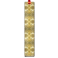 Golden Ornate Pattern Large Book Marks by dflcprintsclothing