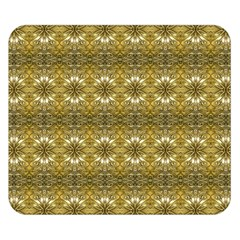 Golden Ornate Pattern Double Sided Flano Blanket (small)  by dflcprintsclothing