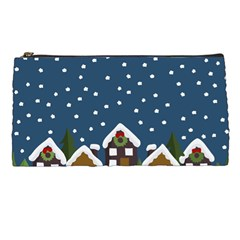 Winter Idyll Pencil Cases by Valentinaart