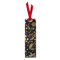 Floral Christmas Pattern  Small Book Marks by Valentinaart