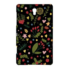 Floral Christmas Pattern  Samsung Galaxy Tab S (8 4 ) Hardshell Case  by Valentinaart