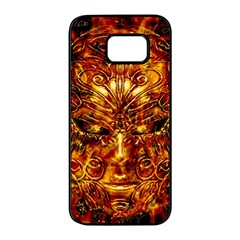 Vulcano Poster Artwork Samsung Galaxy S7 Edge Black Seamless Case by dflcprintsclothing