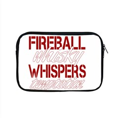 Fireball Whiskey Shirt Solid Letters 2016 Apple Macbook Pro 15  Zipper Case by crcustomgifts