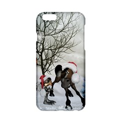 Christmas, Cute Bird With Horse Apple Iphone 6/6s Hardshell Case by FantasyWorld7