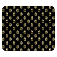 Venetian Mask Motif Pattern 1 Double Sided Flano Blanket (small)  by dflcprintsclothing