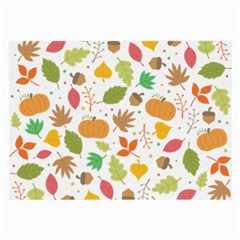 Thanksgiving Pattern Large Glasses Cloth by Valentinaart