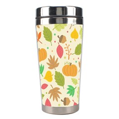 Thanksgiving Pattern Stainless Steel Travel Tumblers by Valentinaart