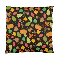 Thanksgiving Pattern Standard Cushion Case (two Sides) by Valentinaart