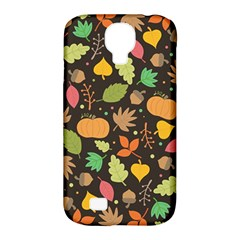 Thanksgiving Pattern Samsung Galaxy S4 Classic Hardshell Case (pc+silicone) by Valentinaart