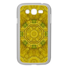 Sunshine Feathers And Fauna Ornate Samsung Galaxy Grand Duos I9082 Case (white) by pepitasart
