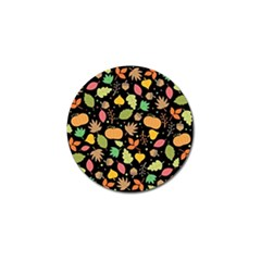 Thanksgiving Pattern Golf Ball Marker (10 Pack) by Valentinaart