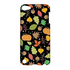 Thanksgiving Pattern Apple Ipod Touch 5 Hardshell Case by Valentinaart