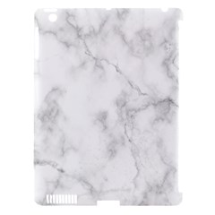 Marble Apple Ipad 3/4 Hardshell Case (compatible With Smart Cover)