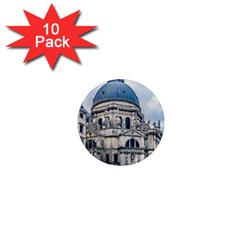 Santa Maria Della Salute Church, Venice, Italy 1  Mini Magnet (10 Pack)  by dflcprintsclothing