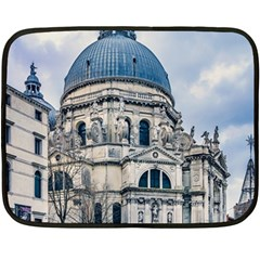 Santa Maria Della Salute Church, Venice, Italy Double Sided Fleece Blanket (mini)  by dflcprintsclothing