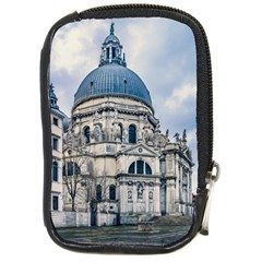 Santa Maria Della Salute Church, Venice, Italy Compact Camera Leather Case