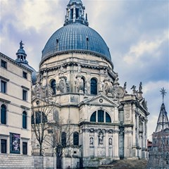 Santa Maria Della Salute Church, Venice, Italy Magic Photo Cube
