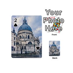 Santa Maria Della Salute Church, Venice, Italy Playing Cards 54 (mini) by dflcprintsclothing