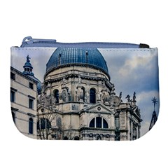 Santa Maria Della Salute Church, Venice, Italy Large Coin Purse