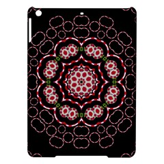 Fantasy Flowers Ornate And Polka Dots Landscape Ipad Air Hardshell Cases by pepitasart