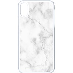 Marble Apple Iphone X Seamless Case (white)