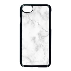 Marble Apple Iphone 8 Seamless Case (black) by DannyM