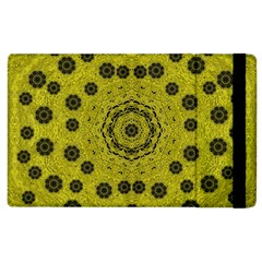 Gold For Golden People And Flowers Apple Ipad 2 Flip Case by pepitasart