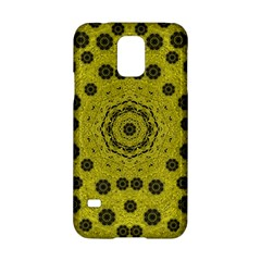 Gold For Golden People And Flowers Samsung Galaxy S5 Hardshell Case