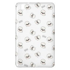 Cute Kawaii Ghost Pattern Samsung Galaxy Tab Pro 8 4 Hardshell Case by Valentinaart