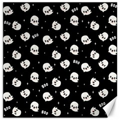 Cute Kawaii Ghost Pattern Canvas 20  X 20  by Valentinaart