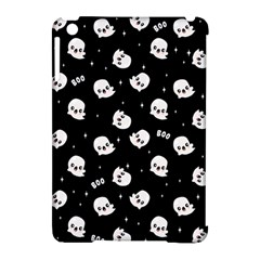 Cute Kawaii Ghost Pattern Apple Ipad Mini Hardshell Case (compatible With Smart Cover) by Valentinaart