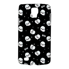 Cute Kawaii Ghost Pattern Samsung Galaxy S4 Active (i9295) Hardshell Case by Valentinaart