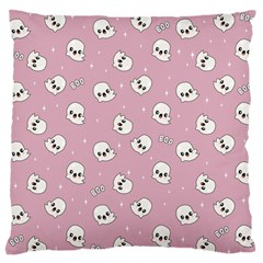Cute Kawaii Ghost Pattern Standard Flano Cushion Case (two Sides) by Valentinaart