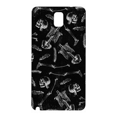 Human Skeleton Pattern   Halloween  Samsung Galaxy Note 3 N9005 Hardshell Back Case by Valentinaart
