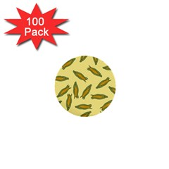 Corn Pattern 1  Mini Buttons (100 Pack)  by Valentinaart