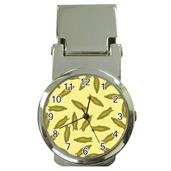 Corn Pattern Money Clip Watches