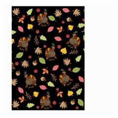 Thanksgiving Turkey Pattern Large Garden Flag (two Sides)