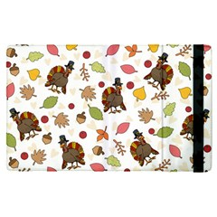 Thanksgiving Turkey Pattern Ipad Mini 4 by Valentinaart