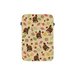 Thanksgiving Turkey Pattern Apple Ipad Mini Protective Soft Cases