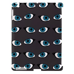 Blue Eyes Pattern Apple Ipad 3/4 Hardshell Case (compatible With Smart Cover)