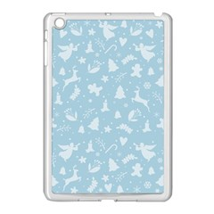 Christmas Pattern Apple Ipad Mini Case (white) by Valentinaart