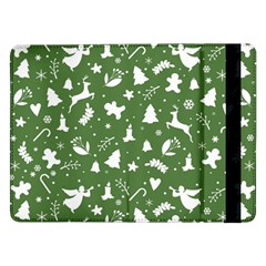 Christmas Pattern Samsung Galaxy Tab Pro 12 2  Flip Case by Valentinaart