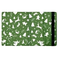 Christmas Pattern Apple Ipad Pro 9 7   Flip Case