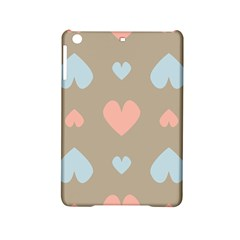Hearts Heart Love Romantic Brown Ipad Mini 2 Hardshell Cases