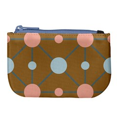 Planets Planet Around Rounds Large Coin Purse