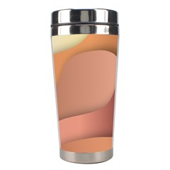 Autumn Copper Gradients Copyspace Stainless Steel Travel Tumblers by Sapixe