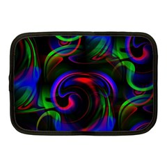 Swirl Background Design Colorful Netbook Case (medium) by Sapixe