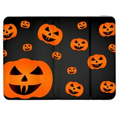 Halloween Pumpkin Autumn Fall Samsung Galaxy Tab 7  P1000 Flip Case by Sapixe