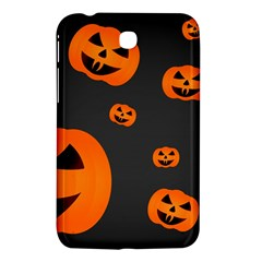 Halloween Pumpkin Autumn Fall Samsung Galaxy Tab 3 (7 ) P3200 Hardshell Case  by Sapixe